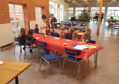 Besøg af den lokale børnehave