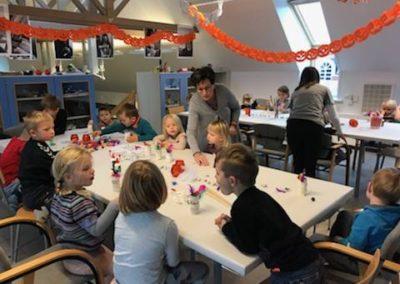 Besøg af børnehaven