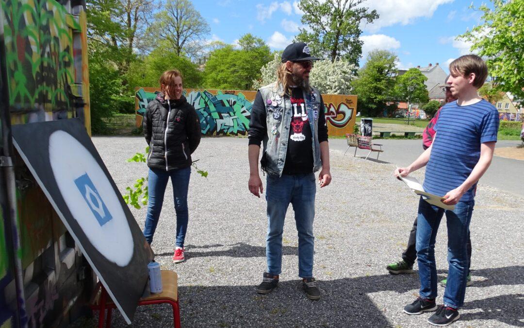Street art i Aalborg med Jonny Hefty